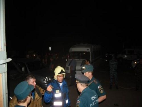 Спасательные работы в Чапаевске