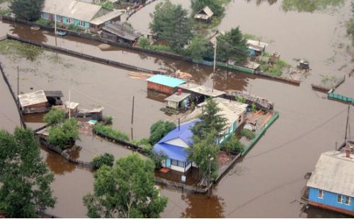 Магнитогорская епархия направила гуманитарную помощь пострадавшим от наводнения жителям села Париж Челябинской области