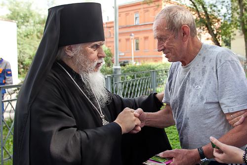 Председатель Синодального отдела по благотворительности епископ Орехово-Зуевский Пантелеимон