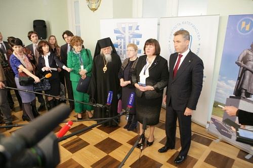 Участники форума выступили в защиту традиционных семейных ценностей. Фото: Николай Нестеренко, Российская газета