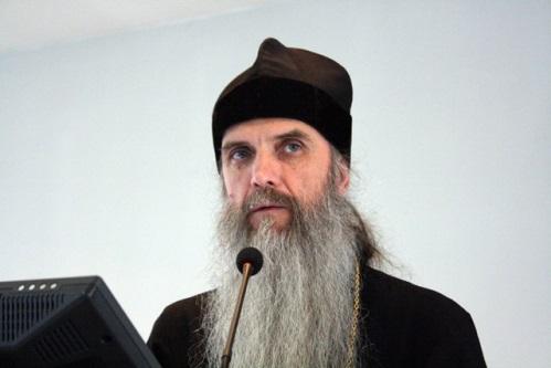 Руководитель Координационного центра по противодействию наркомании Русской Православной Церкви игумен Мефодий (Кондратьев)
