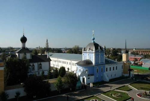 Свято-Троицкий Ново-Голутвин монастырь в Коломне