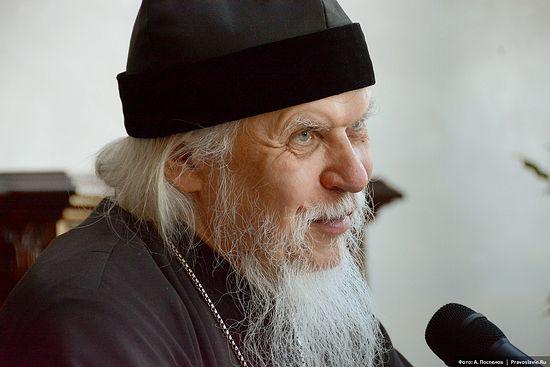 Епископ Орехово-Зуевский Пантелеимон на встрече с братией Сретенского монастыря