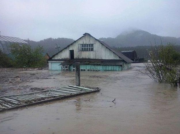 Бийск во время наводнения