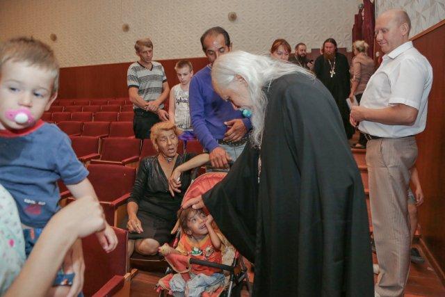 В Пензенском пункте временного размещения вынужденных переселенцев из Украины
