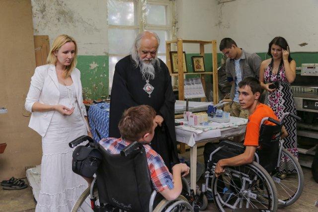 В типографии в Пензе, где трудятся люди с ограниченными возможностями