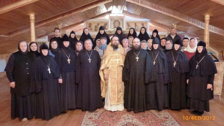 Участники первого съезда руководителей церковных приютов