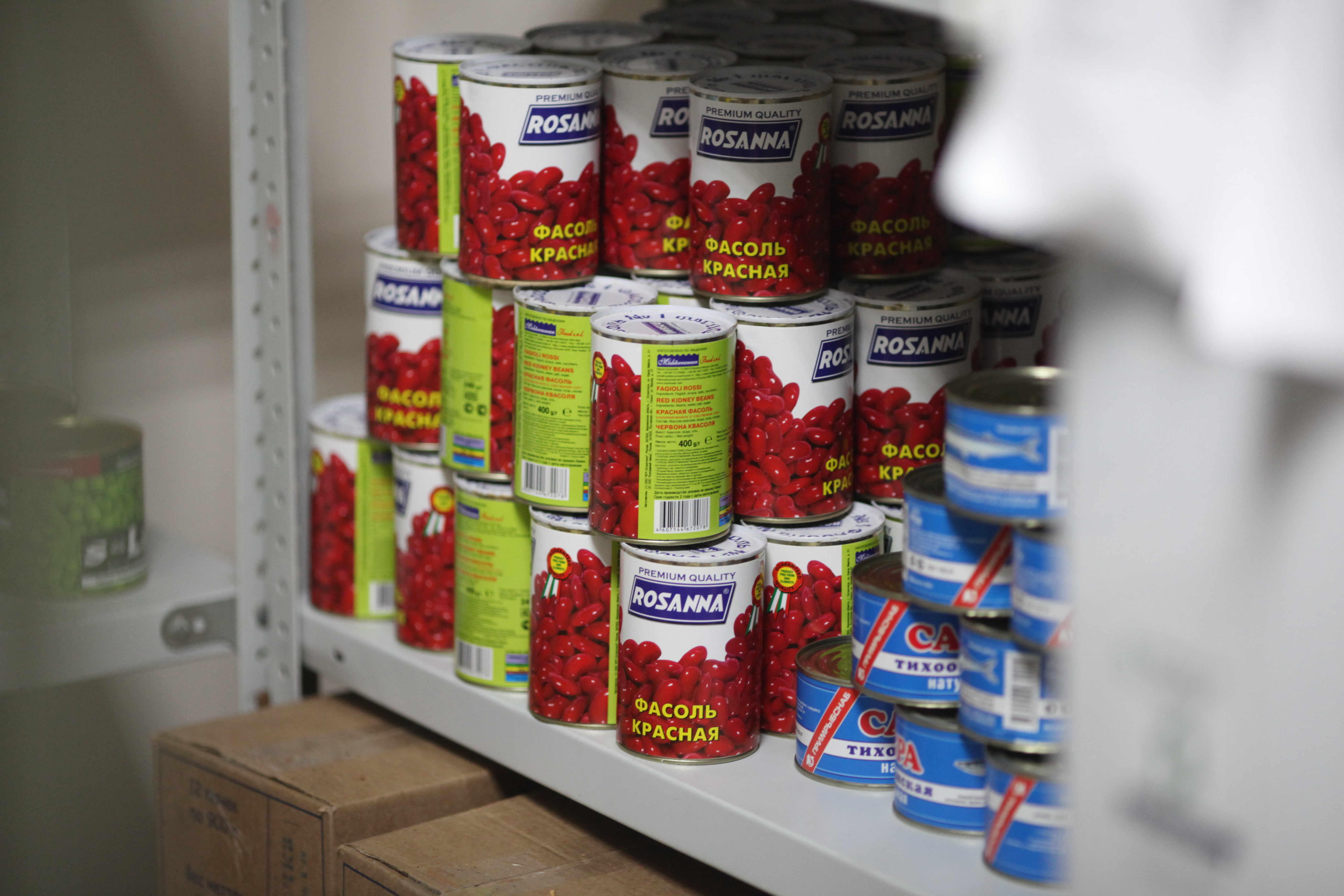 Продолжается сбор продуктов питания и средств гигиены при храме в Новокосино