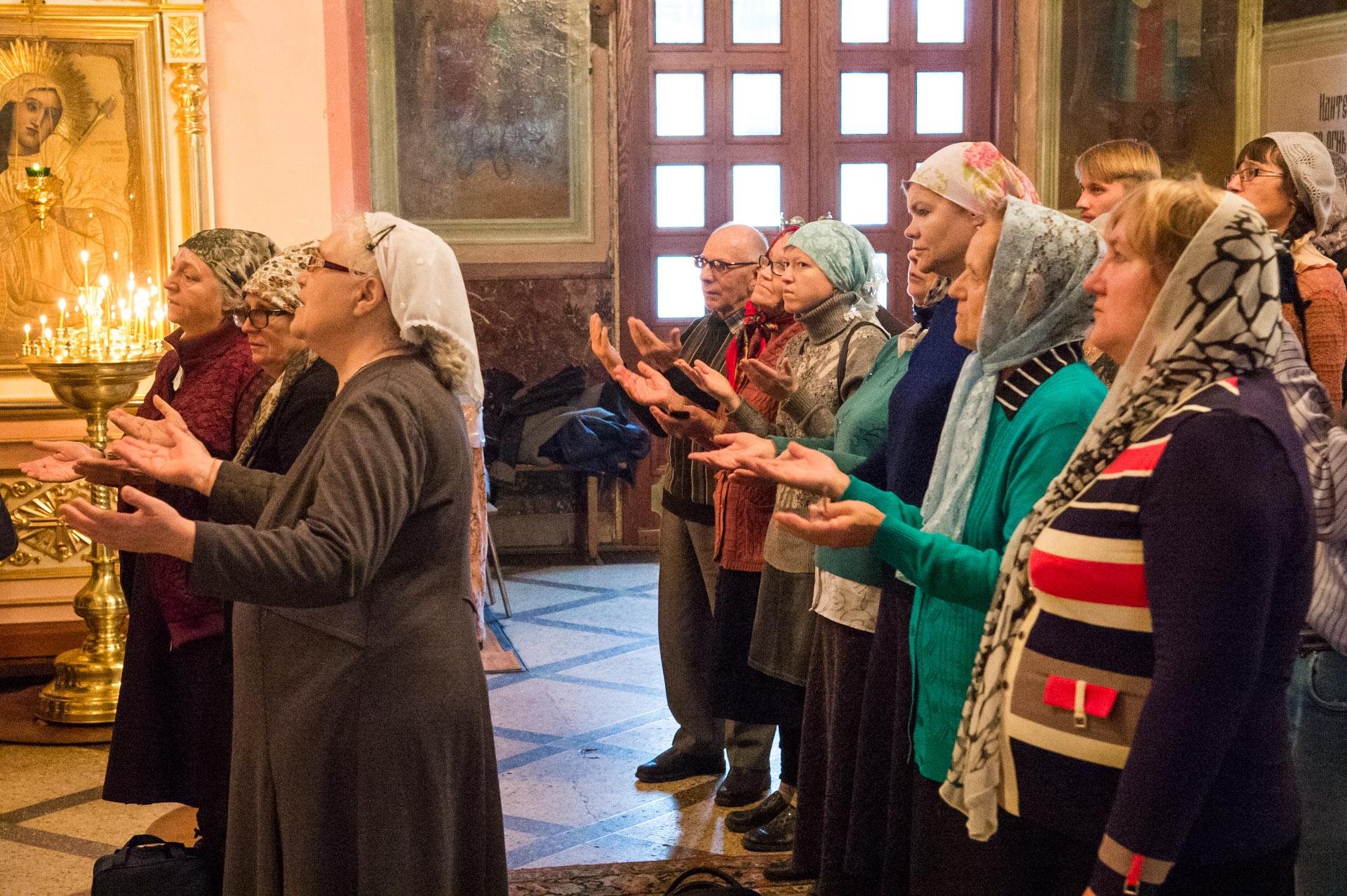 Богослужение в Новосибирске