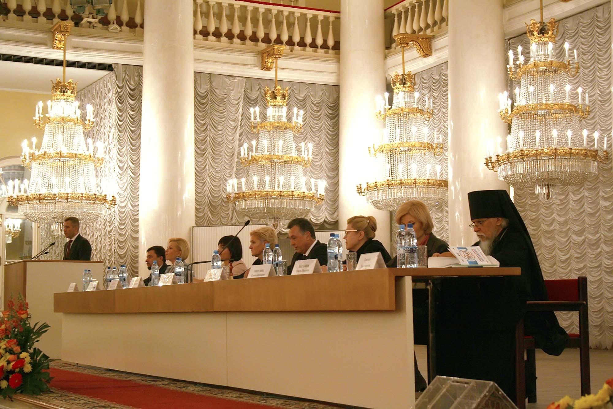 Епископ Пантелеимон принял участие в открытии Всероссийского форума приемных семей
