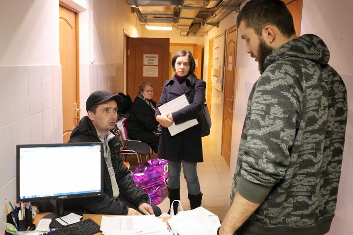 Церковный штаб помощи беженцам в Москве работает на полную мощность