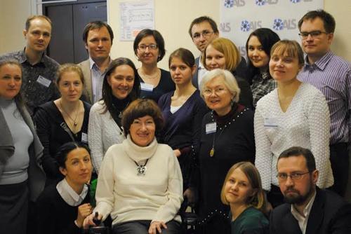 Организаторы и участники конференции «Боковой амиотрофический склероз: обмен опытом помощи больным»