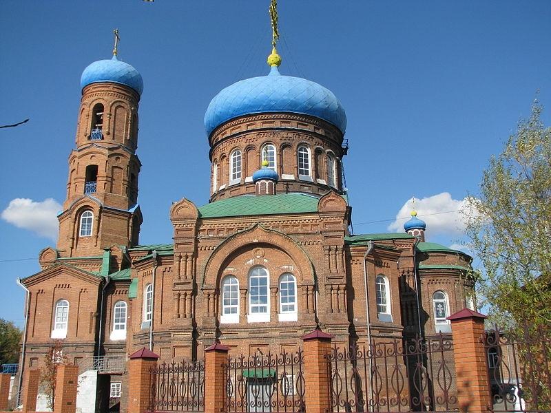 Кафедральный собор Покрова Пресвятой Богородицы в г. Барнаул