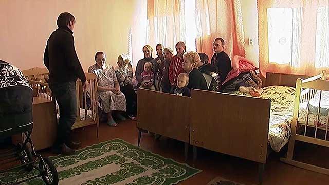 Cемья Грубик, для которой Церковь планирует приобрести отдельное жилье