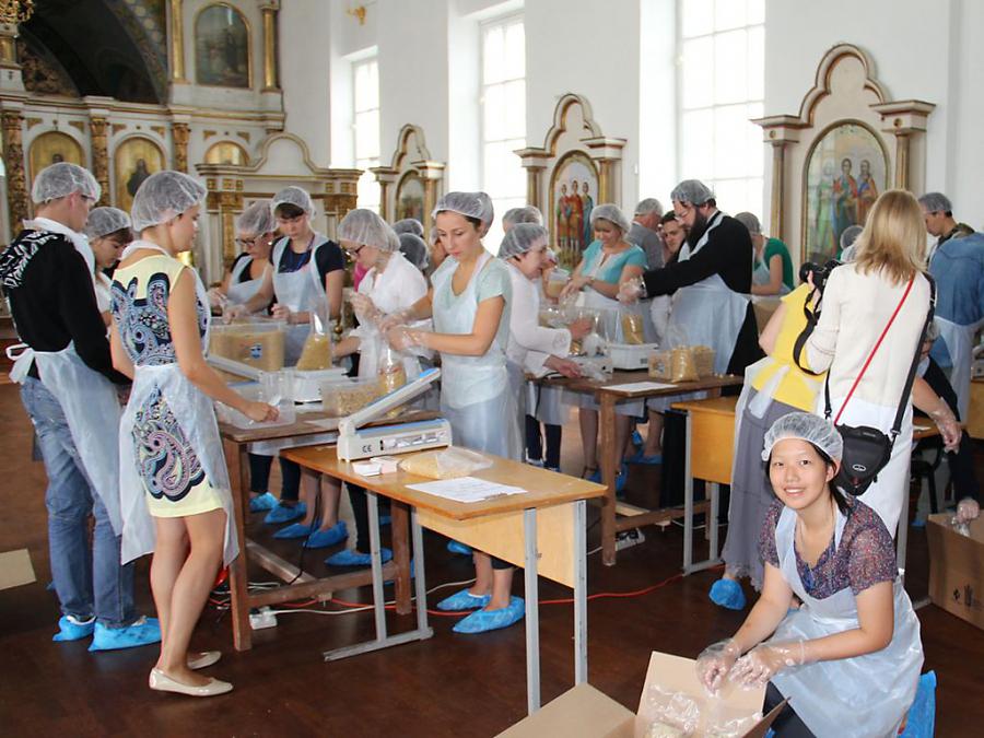В Каменске-Шахтинском начнут фасовать бесплатные обеды для нуждающихся