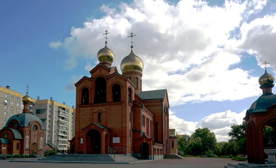 Храм святителя Василия Великого в Челябинске