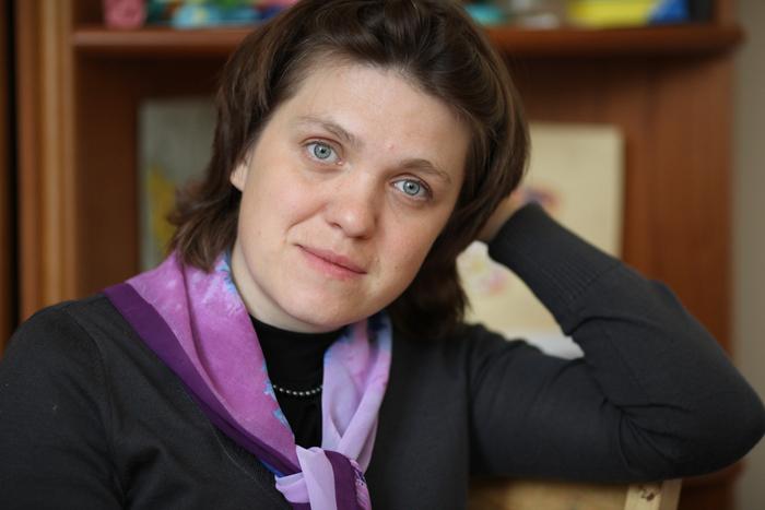 Руководитель детской выездной паллиативной службы православной службы помощи «Милосердие» Ксения Коваленок
