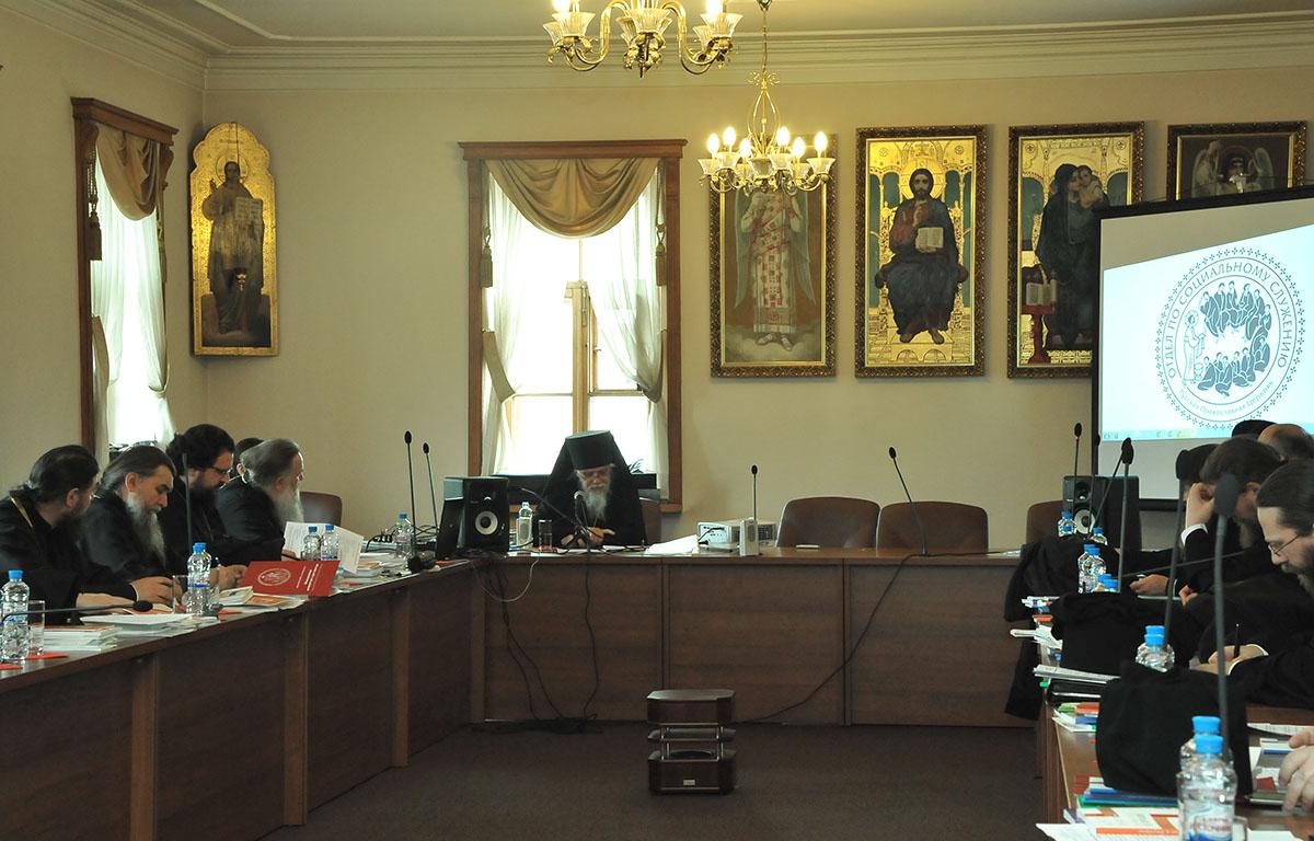Слушатели курсов – 25 недавно рукоположенных архиереев Русской Православной Церкви