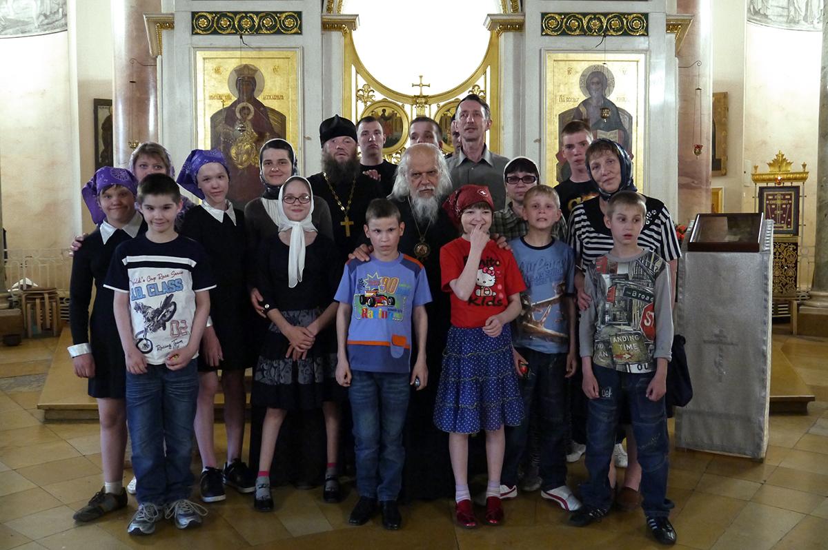 В московском храме царевича Димитрия при 1-й Градской больнице