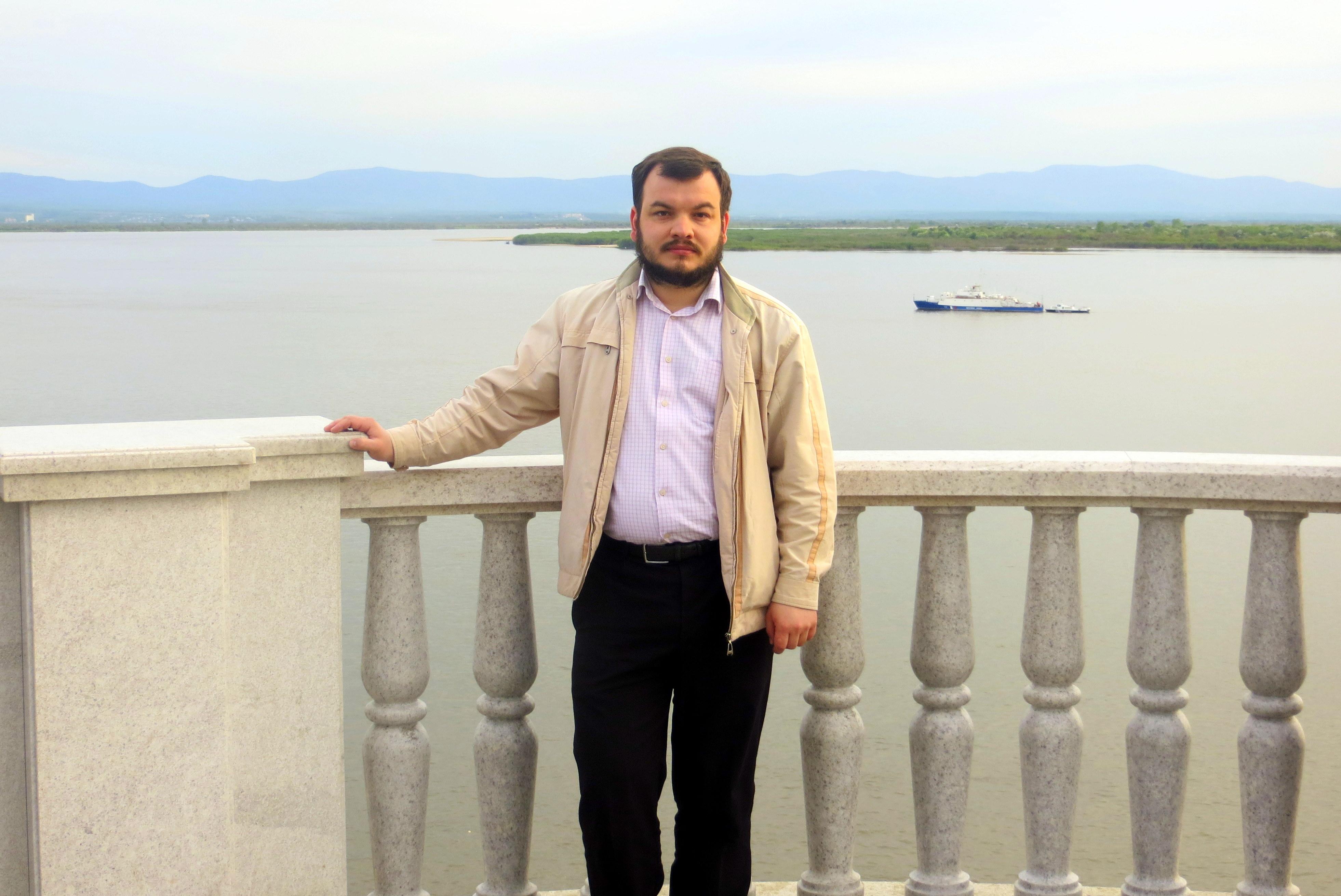 Руководитель направления помощи бездомным Синодального отдела по благотворительности Илья Кусков