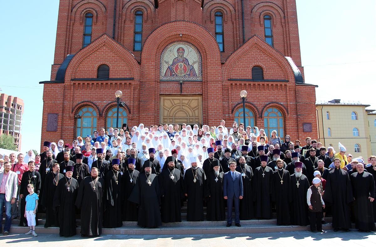 Участники VI межрегиональной конференции по церковному социальному служению в Кемерово