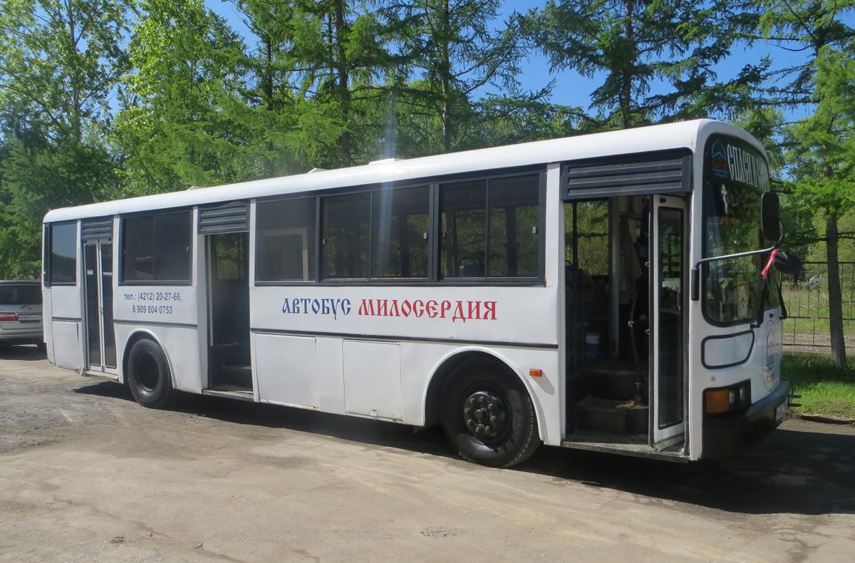 Организатор мобильного пункта питания «Автобус Милосердия» из Хабаровска - один из номинантов конкурса имени Надежды Монетовой