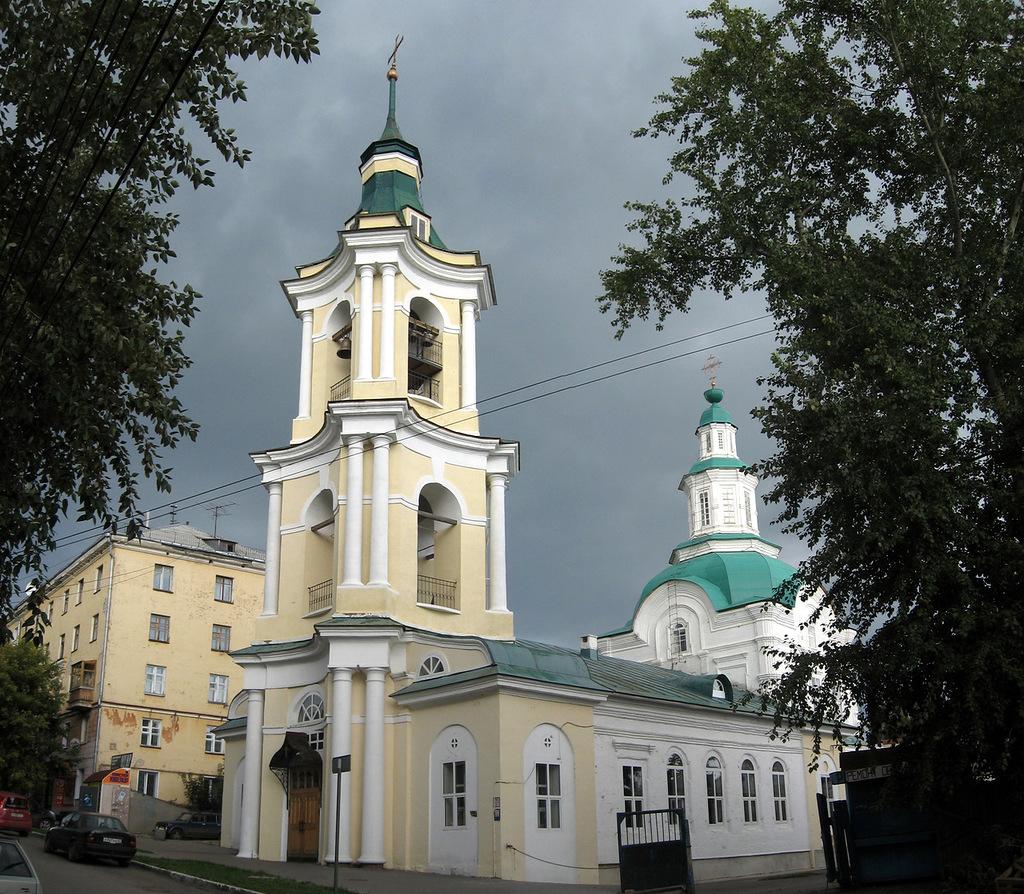 Царево-Константиновский Знаменский храм города Кирова