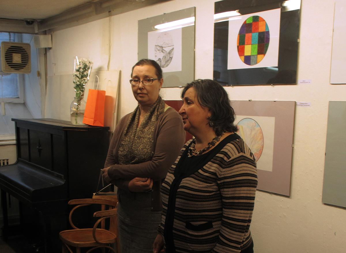 Открытие выставки «Круг. Возвращение» в галерее «Борей»