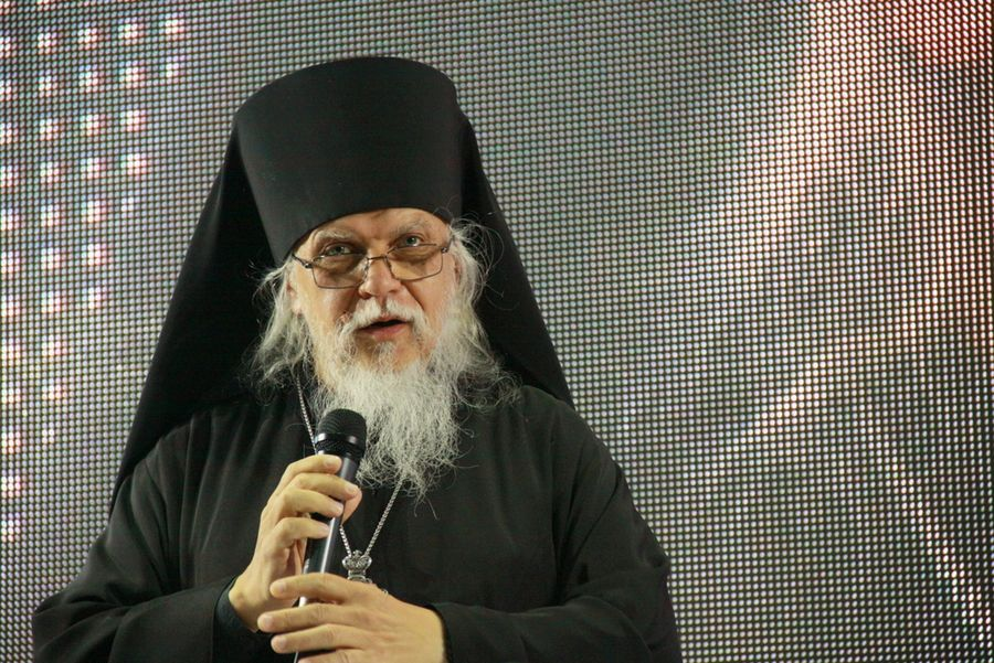 Епископ Орехово-Зуевский Пантелеимон в Конгрессно-выставочном центре «Сокольники»