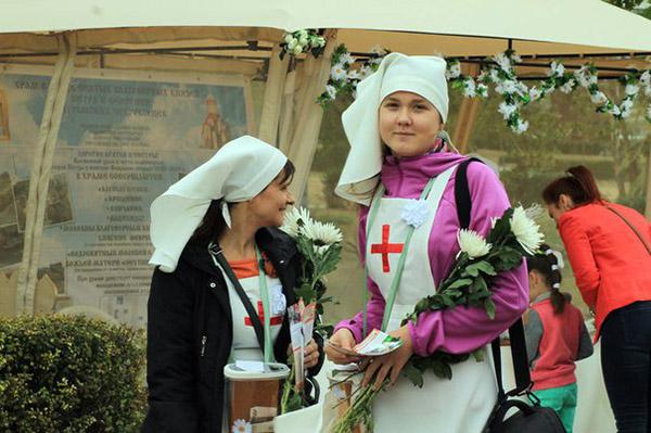 В Ростове-на-Дону прошел благотворительный праздник «Белый Цветок»