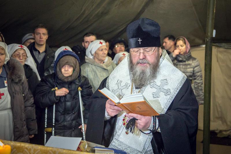 Освящение пункта обогрева «Теплый кров» совершил митрополит Ижевский и Удмуртский Викторин