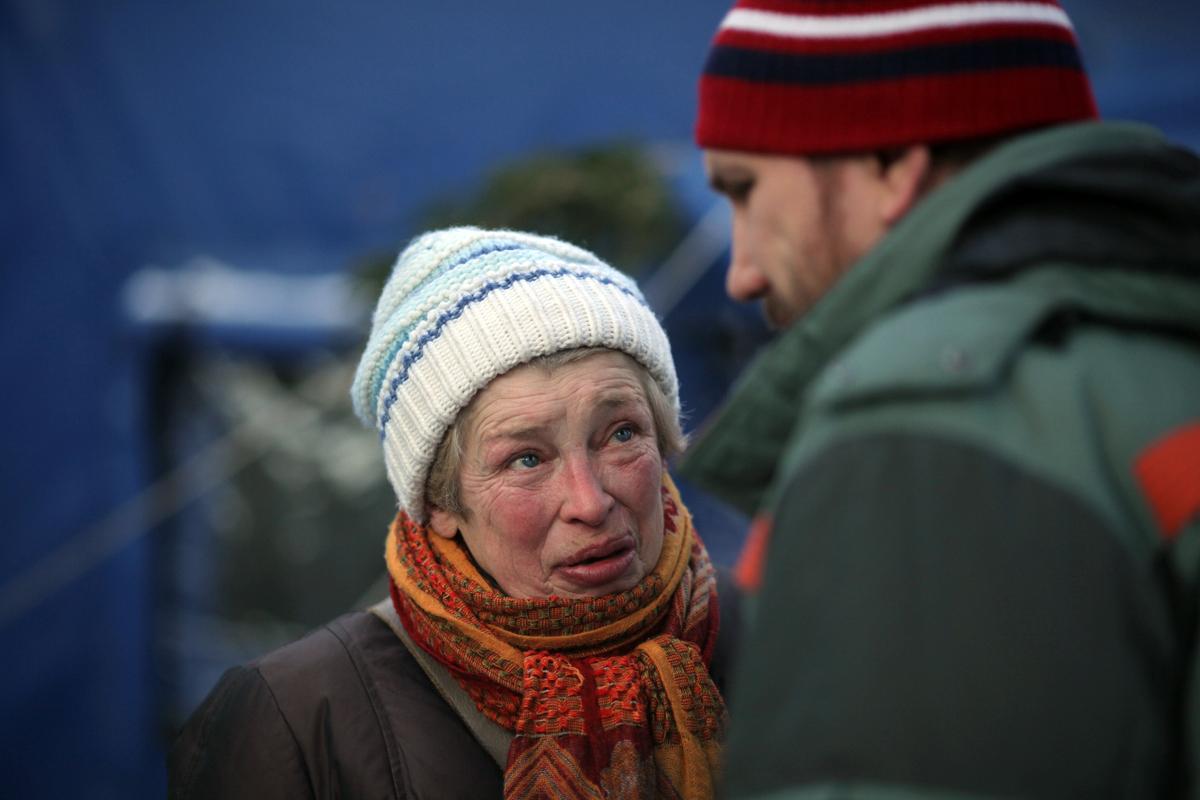 Ежемесячно в московский «Ангар спасения» за помощью обращаются более 1,5 тысяч бездомных