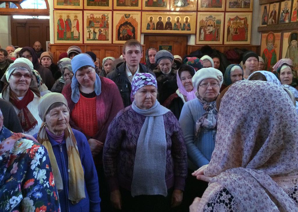 Сегодня в православной общине глухих и слабослышащих Челябинска 27 человек