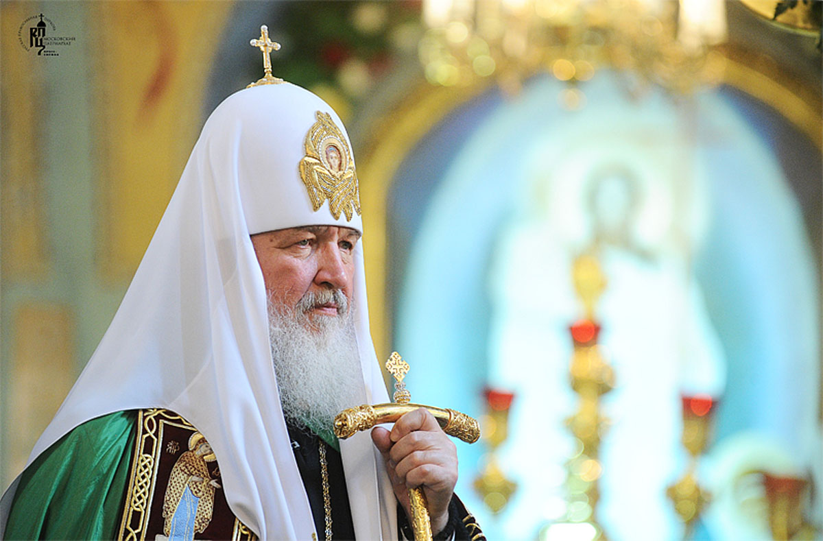 Фото пресс-службы Патриарха Московского и всея Руси/Архив