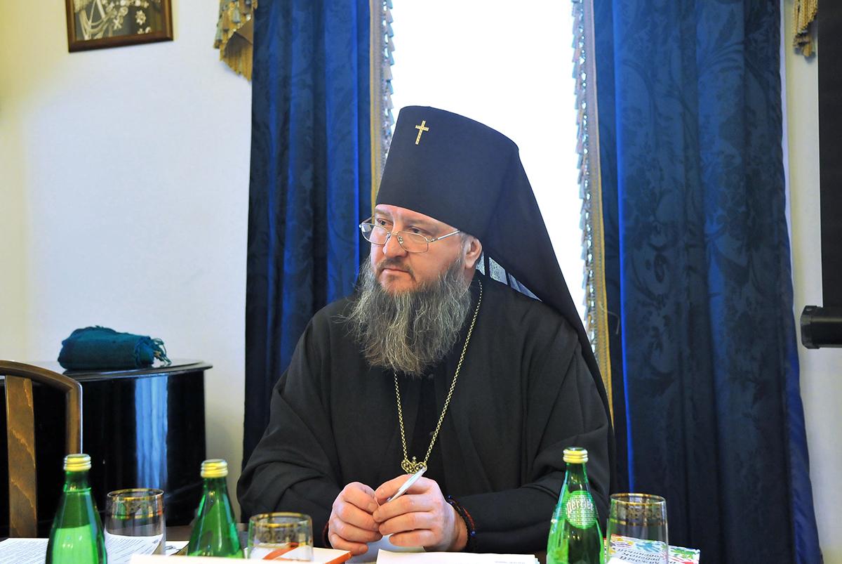 Работу секции возглавил архиепископ Тираспольский и Дубоссарский Савва