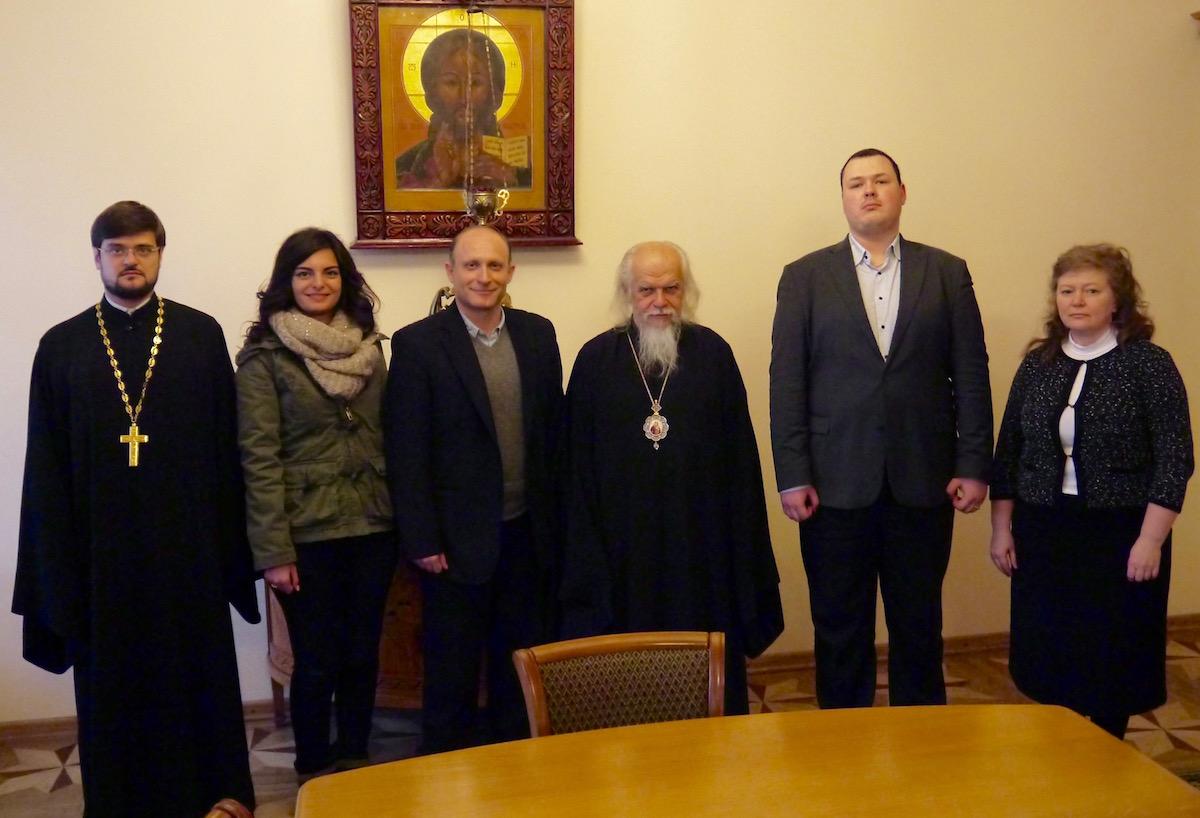Епископ Пантелеимон встретился с представителями сирийской благотворительной организации во имя Святого Ефрема