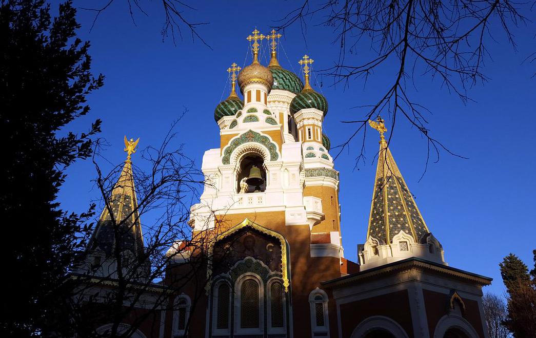 Свято-Николаевский кафедральный собор в Ницце