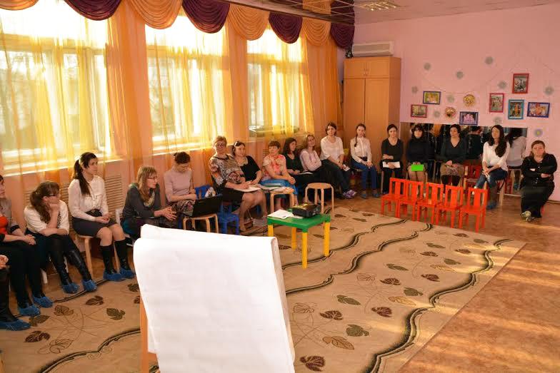 Семинар для волонтеров прошел в Выксунском Доме ребенка