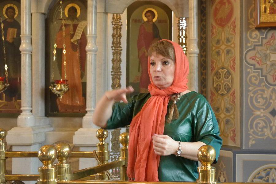 Божественная литургия для глухих и слабослышащих людей в Свято-Ильинском храме Краснодара