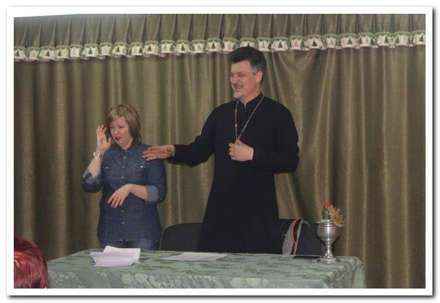 В Новороссийске Церковь начинает работу с глухими и слабослышащими людьми
