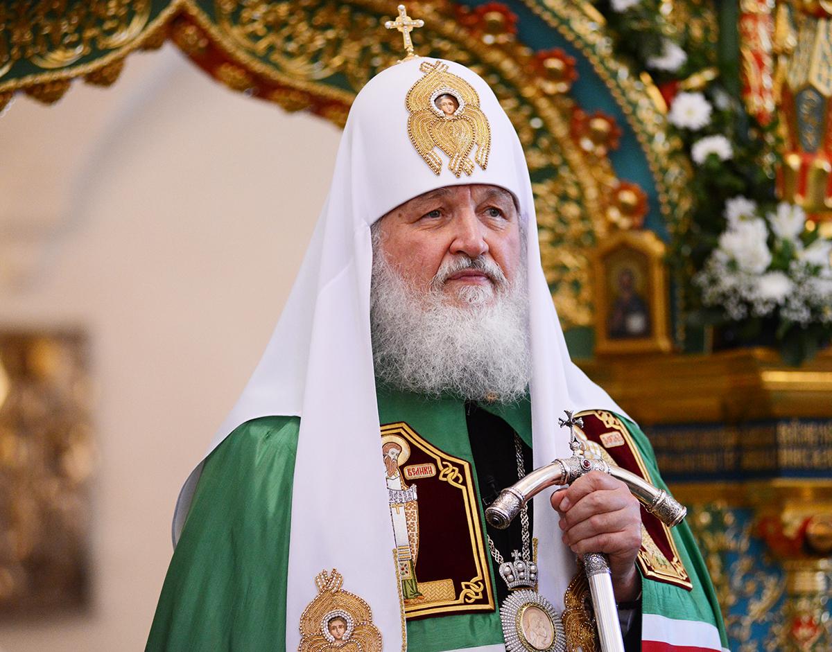 Святейший Патриарх Кирилл призвал не осуждать людей, живущих с ВИЧ
