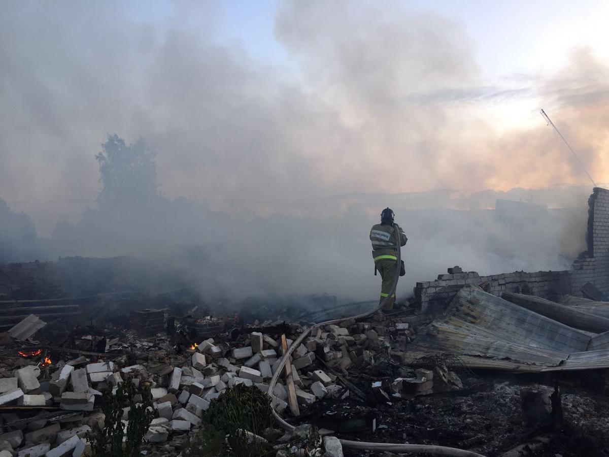 В Касимовской епархии просят помочь священнику, у которого сгорел дом