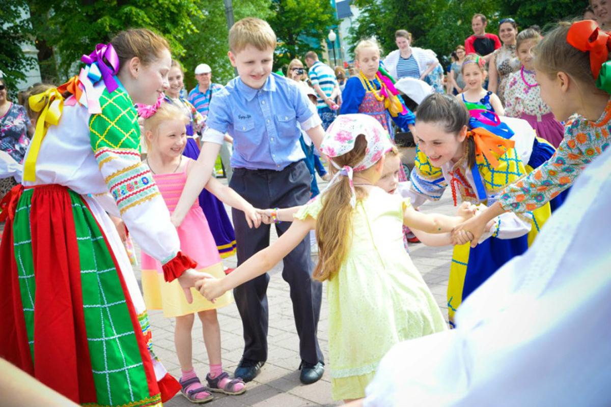 Праздник «Пусть у всех будет детство!» в Калининграде