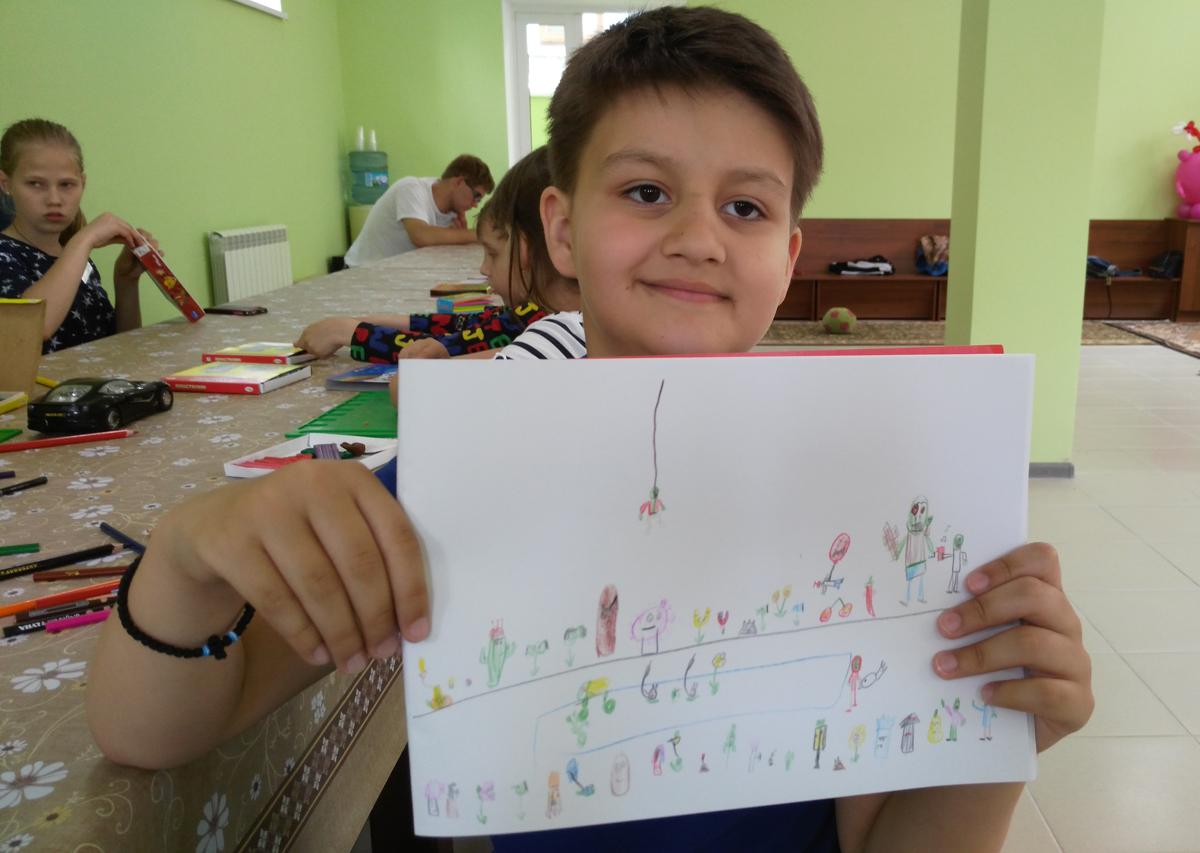 Церковный инклюзивный лагерь в Ессентуках ищет добровольцев
