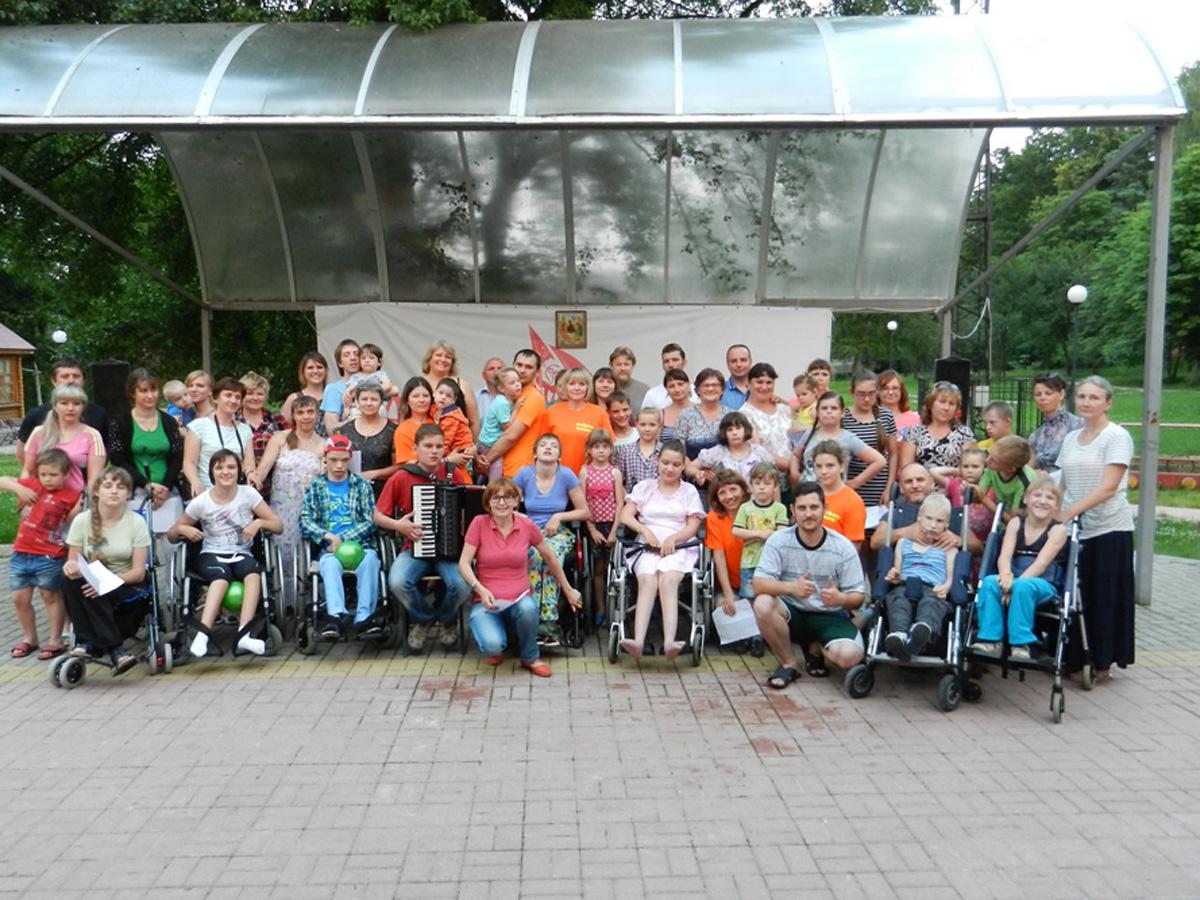 Белгородская епархия организовала лагерь для детей с ограниченными возможностями