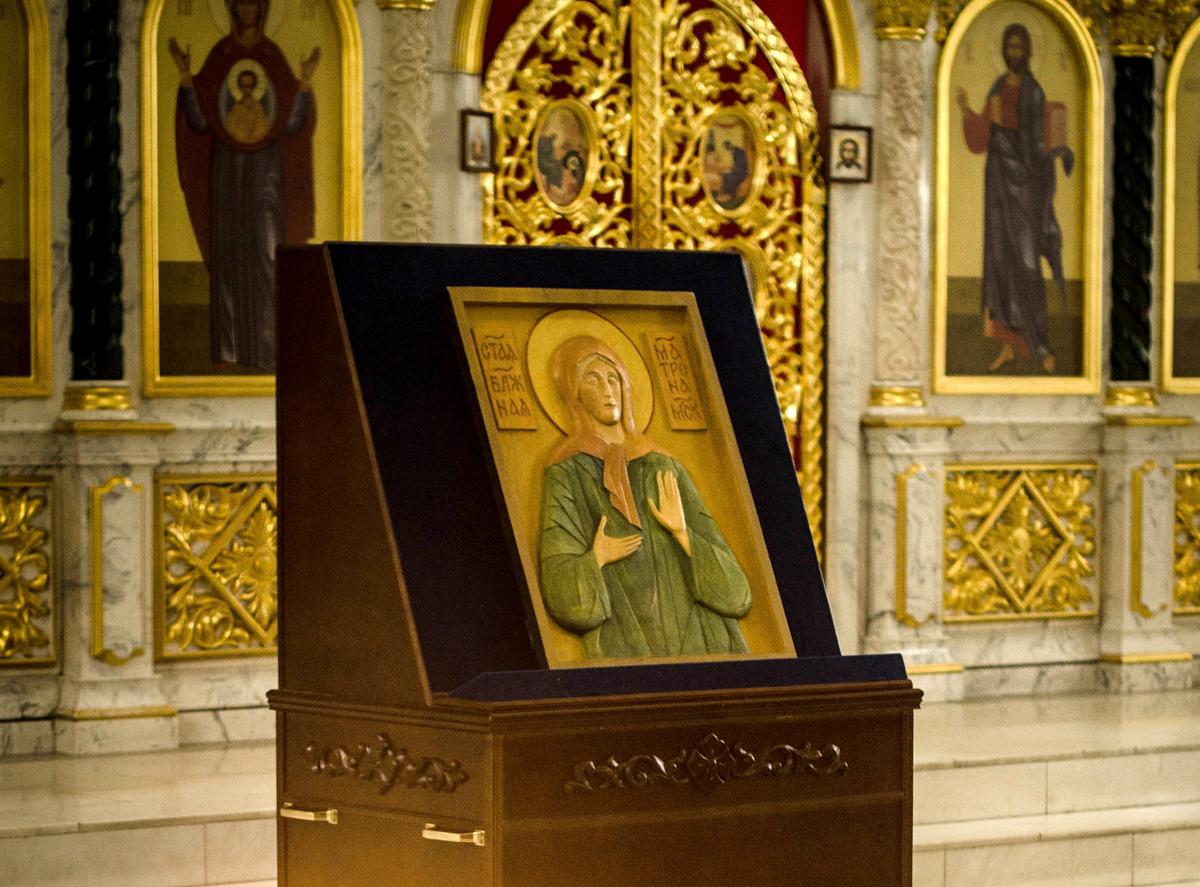 Образ святой блаженной Матроны Московской передан Богоявленскому храму в Химках