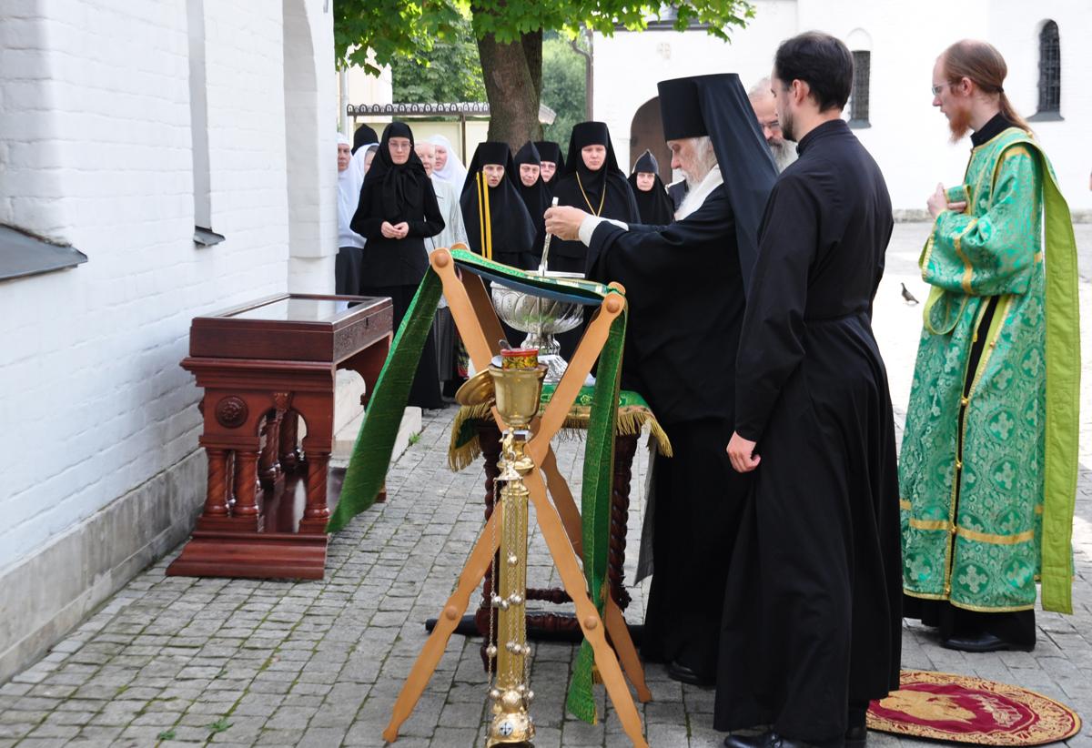 Епископ Пантелеимон освятил часовню в Марфо-Мариинской обители милосердия
