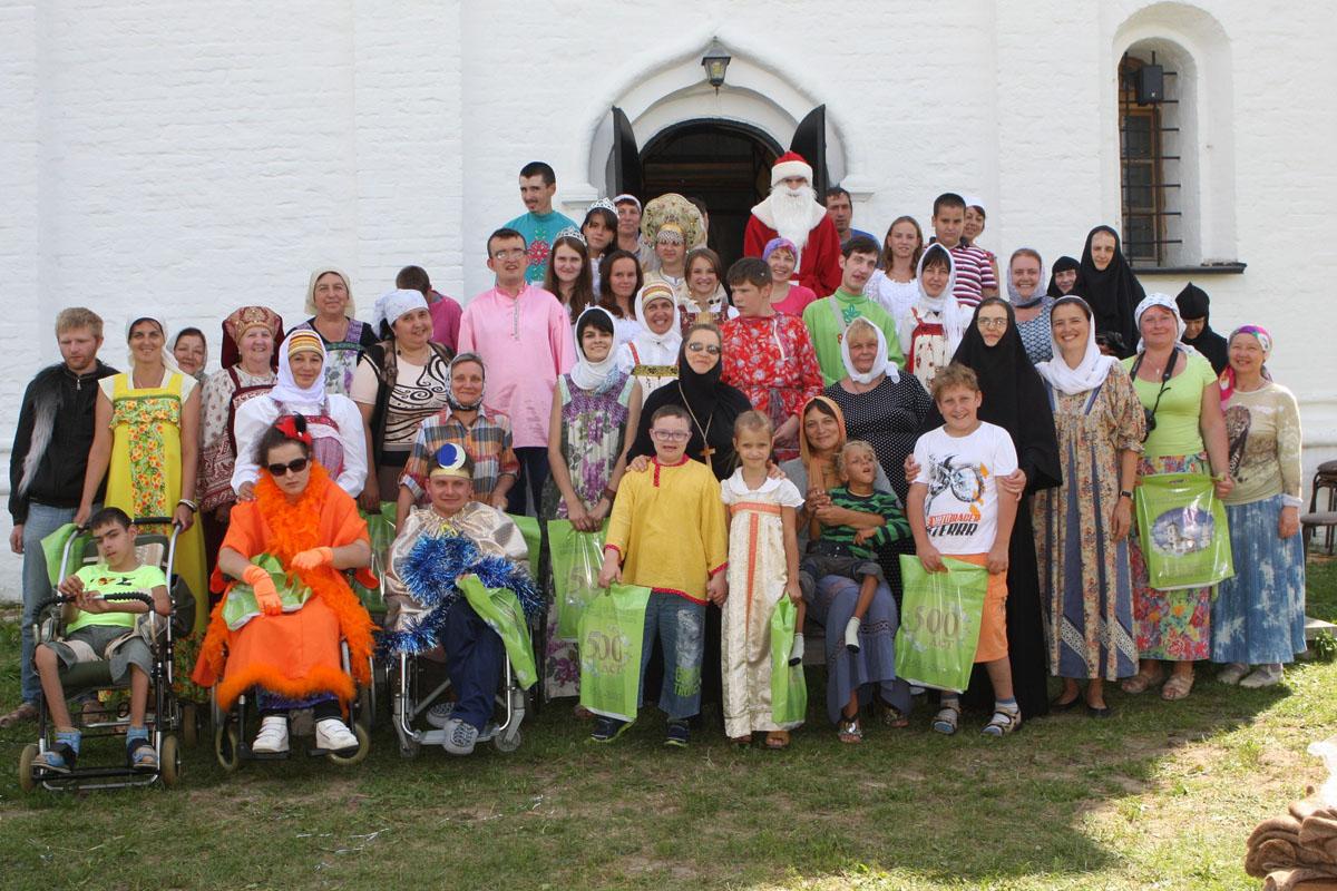 В Калужской епархии организовали летний отдых для детей и молодежи с инвалидностью