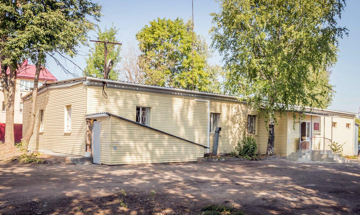Новый реабилитационный центр открыт в здании бывшего медицинского вытрезвителя. На средства епархии здесь был сделан капитальный ремонт