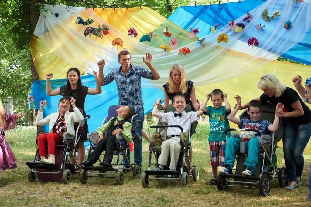 Социальные отделы епархий Украинской Православной Церкви организовали отдых для детей с ограниченными возможностями